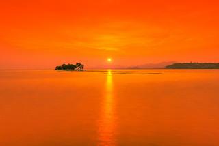 sunset 2001