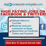High Paying Jobs on Facebook and Twitter !!! / http://paidsocialmediajobscomnow.blogspot.com thumbnail