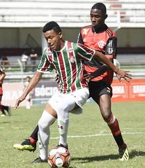 Sub-15 Fluminense x Flamengo 11.08.2018 (Fluminense F.C.) Tags: estadual futebol jogando