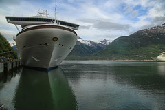 Golden Princess (crafty1tutu (Ann)) Tags: travel holiday 2018 canada alaska cruise ship boat water sky mountains crafty1tutu canon5dmkiii canon24105lserieslens anncameron