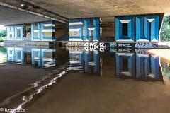 Sous le pont (Remnaeco35) Tags: tag sonyrx100m3 bleu blue rivière