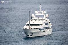 Lioness V - 64m - Benetti (Raphaël Belly Photography) Tags: rb raphaël monaco raphael belly photographie photography yacht boat bateau superyacht my yachts ship ships vessel vessels sea motor mer m meters meter lioness v 64m 64 white blanc bianco benetti