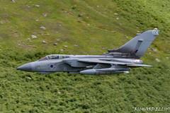 Tornado 074 through Dunmail Raise (richardelliot) Tags: raf jet engine acviation nikon nikon200500 nikond500 pilotlife lowlevel pilot wings fast jets gr4 tornado