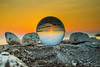 Sunset reflection in a glass ball.jpg (marcoverch) Tags: sun outside travel reflection sky sunset croatia seaside stones sea nature natur beach strand noperson keineperson stone stein meer rock sonne himmel ocean ozean sonnenuntergang water wasser sand reise seashore summer sommer dawn dämmerung desktop color farbe fairweather schöneswetter outdoors drausen head child bicycle cielo windows landschaft pose event pool coth5