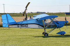 G-NDAD - 2011 build Medway Microlights SLA 100 Clipper, shortly after arrival at Ince Blundell during FlyUK 2017 (egcc) Tags: clipper executive flyuk gndad ince inceblundell lightroom medwaymicrolights microlight pyne sla100 080910