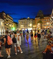 Roman street (Tobi_2008) Tags: rom roma rome italien italia italy strase street abend evening menschen people personen persons