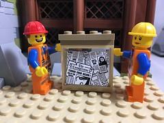 2018-179 - Custom Window (Steve Schar) Tags: 2018 wisconsin sunprairie iphone iphone6s project365 lego minifigure emmet masterbuilder build builder construction window