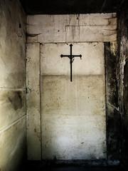 mystic cross (Darek Drapala) Tags: cemetery cemeteries cementary cementery cross mood mystery mystic grave gravestone graveyard panasonic poland polska panasonicg5 powazki lumix light