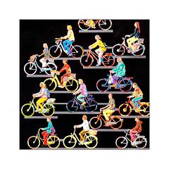Les Bicyclettes (Jean-Louis DUMAS) Tags: velo bicyclette bycicle art artist artistic artistique artdelarue streetart