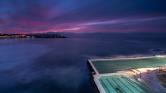 Iceberg (- Etude -) Tags: sydney beach sunrise australia swimming pool