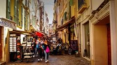 Callejuelas de Mónaco (Raúl Alejandro Rodríguez) Tags: calle street cafe bar comercios shops rue emile de loth monaco ville