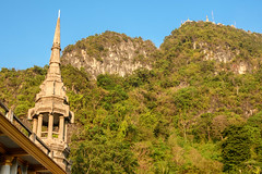 Tiger Cave (good.fisherman) Tags: building exterior famous place architecture column palace historical 10th century old town worship steeple landmark international shrine temple buddhism religion thailand krabi travel