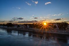 Sunset in Arles,France (Konstantina P.) Tags: arles france sunset colourfull sun d610 1855 landscape riverside nikon