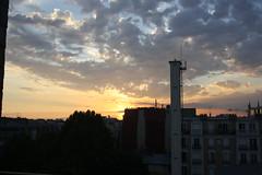 Paris Sky (lazy south's travels) Tags: paris france french europe urban capital city sun set summer cloud clouds
