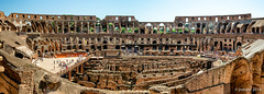 Colosseum Panorama (orgazmo) Tags: rome italy roma italia colosseum historical landmarks panorama olympus omd em1mk2 panasonic leica micro43s leicadgvarioelmarit818mmf284asph m43s buildings structures