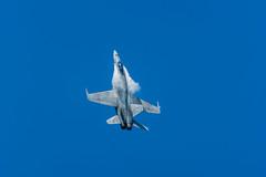 McDonnell Douglas F/A-18 Hornet - Festival Aéreo Gijón 2018 (Juan José Pérez) Tags: gijón principadodeasturias españa es mcdonnell douglas fa18 hornet español festiva festival aéreo gijon ejercito azul aire