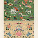Chinese pattern from L'ornement Polychrome (1888) by Albert Racinet (1825–1893). Digitally enhanced from our own original 1888 edition.
