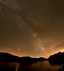 Milky Way Mosaic, Attempts were Made (mbeganyi) Tags: milkyway panorama stars hancock vermont unitedstates