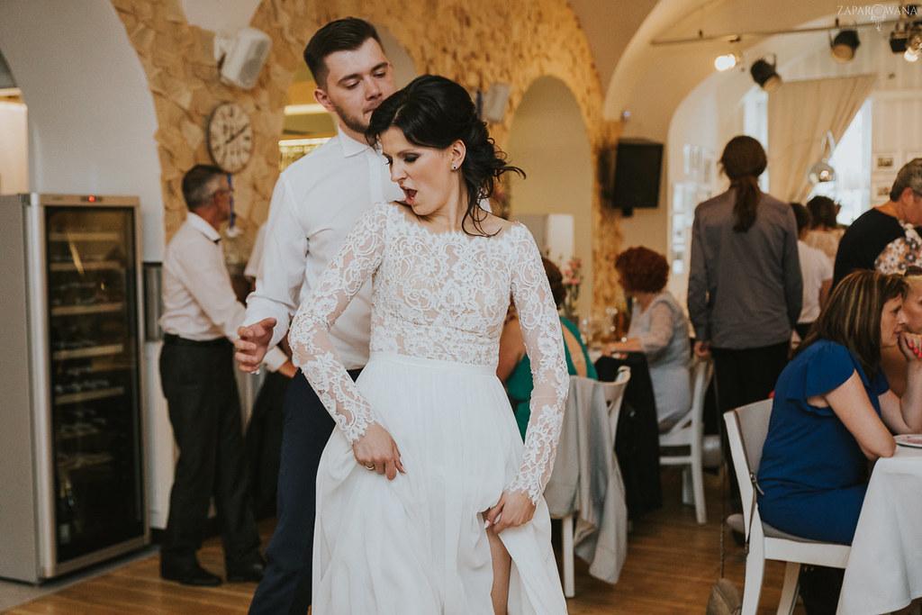 506 - ZAPAROWANA - Kameralny ślub z weselem w Bistro Warszawa