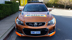"""ACT Police """"Tiger"""" with new lightbars (ats_500) Tags: actpolice policecar holden highwaypatrol police canberra australia"""