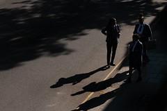 _MG_7028 (JetBlakInk) Tags: streetphotography magichour blackgirlmagic lowkey silhouette highvantagepoint highelevation shadowyfigure figure lightandtone streetscene