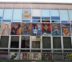 Cooper Dual Language Academy Murals (Brule Laker) Tags: chicago illinois pilsen caf murals cps chicagoarchitecturefoundation walkpilsen chicagopublicschools