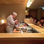 Raw seafood dinner - Tokyo thumbnail