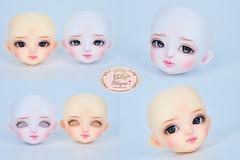 Lati yellow Coco X2 head (♥..Nomyens..♥) Tags: bjd balljointdoll toy doll custom faceup paint painting painted repaint handmade nomyens nomyenscom lati latiyellow latidoll laticoco latitwin tiny tinydoll