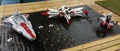 My custom UCS Star Wars models (thire5) Tags: star wars venator arc170 jedi