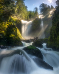 Falling Creek (Wind Walk) Tags: falls creek fall waterfall washington sun beam gifford pinchot national forest