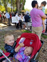 A toy for Eliza (quinn.anya) Tags: paul eliza toddler baby andy sam preschooler familiesbelongtogether protest