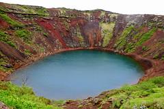 Kerið 2 (ragnaolof) Tags: kerið iceland selfoss lake craterlake crater volcanic