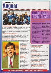 Scottish Football Today - August 1994 - Page 4 (The Sky Strikers) Tags: scottish football today magazine august 1994 one pound fifty theo snelders