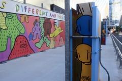 NYC - FiDi: Two World Trade Center Mural Project - Frank Ape and Chris RWK (wallyg) Tags: 2worldtradecenter chrisrwk downtownmanhattan fidi financialdistrict frankape graffiti manhattan mural newyork newyorkcity ny nyc robotswillkill rwk streetart twoworldtradecentermuralproject downtown silversteinproperties worldtradecenter