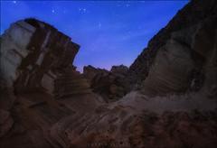 Hay otros mundos, pero estan en este (carmenvillar100) Tags: sapedrera atlantis ibiza eivissa cantera mediterraneansea otherworlds nightphotography nocturnas nocheestrellada rockformation sonya7r batis18
