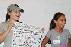 BOSH Volunteer Cassandra and buddy