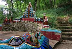 Parkanlage (Don Claudio, Vienna) Tags: salome kunst art park garten mosaik ernst fuchs museum otto wagner wien vienna penzing hütteldorf