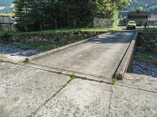 SIH130 Testing Center Ochsenboden Road Bridge 5 over the Sihl River, Studen, Canton of Schwyz, Switzerland
