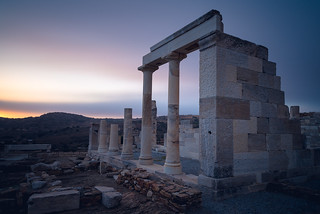 Temple of Demeter, Sangri, Naxos, Greece