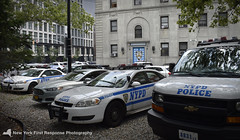2017 NYPD Chevy Van 8831 (1st Precinct) (nyfrp) Tags: manhattan downtown new york city nyc ny west south tribeca village nypd police car policecar vehicle world trade center wtc freedom tower memorial street nyfrp first response nikon d3400 chevy van express impala