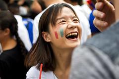 Colmar - 2018 (hoangcharlie.photography) Tags: streetphotography street scene portrait emotion france colmar alsace 1998 2018 worldcup world nikon d7200 victory stphotographia photography snap candid champion smile joy