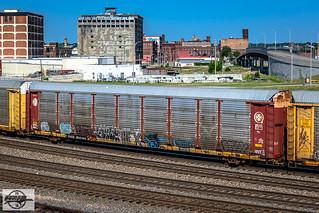 TTGX 982489 - Autorack at Kansas City, MO