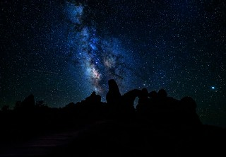 Milky Way at Turret Arch Utah