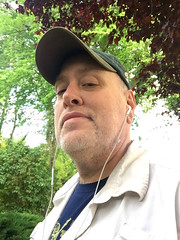 Day 2345: Day 155: Walking (knoopie) Tags: 2018 june iphone picturemail doug knoop knoopie me selfportrait 365days 365daysyear7 year7 365more day2345 day155