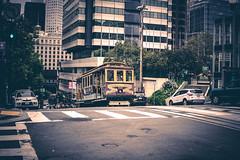 San Francisco Cable Car (BirthofSamuel) Tags: streetphotography sigma30mm14 sonyalpha sanfrancisco california landmark cablecar a6000 chinatown