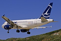 JSI/LGSK: Tarom Airbus A318-111 YR-ASB (Roland C.) Tags: airliner aircraft airplane aviation airport jsi lgsk tarom airbus a318 a318100 a318111 yrasb skiathos greece