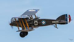 Bristol F2b - D8096 (G-AEPH) (Ian. J. Winfield) Tags: shuttleworth oldwarden bedfordshire airshow plane aeroplane aircraft flight flying military pageant bristol fighter biplane f2b d8096 ww1 greatwar raf rfc royalairforce royalflyingcorps