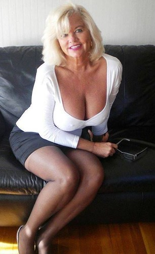 Super hot blonde milf