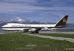 United Parcel Service (UPS) Boeing 747-123SF N9675 (nzav8a) Tags: n9675 ups 747 boeing boeing747 747100 ont