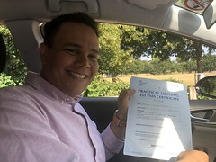 Massive congratulations to Juan Carlos Linares Risquez passing his driving test with only 5 faults on his first attempt!   www.leosdrivingschool.com